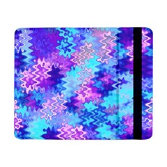 Blue And Purple Marble Waves Samsung Galaxy Tab Pro 8 4  Flip Case