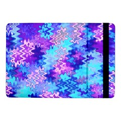 Blue And Purple Marble Waves Samsung Galaxy Tab Pro 10 1  Flip Case