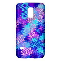 Blue and Purple Marble Waves Galaxy S5 Mini