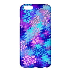 Blue And Purple Marble Waves Apple Iphone 6 Plus Hardshell Case