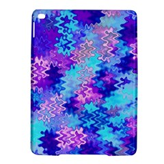 Blue and Purple Marble Waves iPad Air 2 Hardshell Cases
