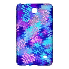 Blue And Purple Marble Waves Samsung Galaxy Tab 4 (8 ) Hardshell Case