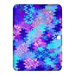 Blue and Purple Marble Waves Samsung Galaxy Tab 4 (10.1 ) Hardshell Case