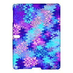 Blue and Purple Marble Waves Samsung Galaxy Tab S (10.5 ) Hardshell Case