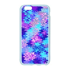 Blue and Purple Marble Waves Apple Seamless iPhone 6 Case (Color)