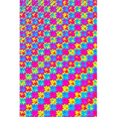 Crazy Yellow and Pink Pattern 5.5  x 8.5  Notebooks