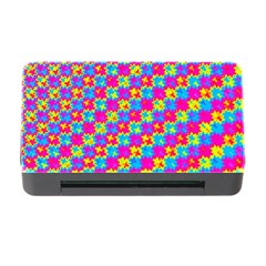Crazy Yellow and Pink Pattern Memory Card Reader with CF