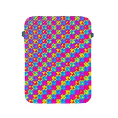 Crazy Yellow And Pink Pattern Apple Ipad 2/3/4 Protective Soft Cases