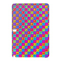 Crazy Yellow and Pink Pattern Samsung Galaxy Tab Pro 10.1 Hardshell Case