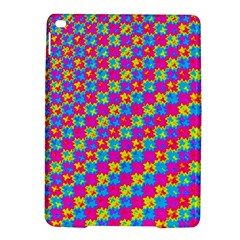 Crazy Yellow and Pink Pattern iPad Air 2 Hardshell Cases