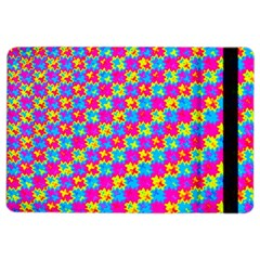 Crazy Yellow and Pink Pattern iPad Air 2 Flip