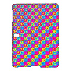 Crazy Yellow and Pink Pattern Samsung Galaxy Tab S (10.5 ) Hardshell Case