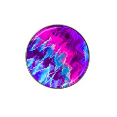 Stormy Pink Purple Teal Artwork Hat Clip Ball Marker (10 Pack)