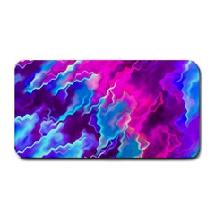 Stormy Pink Purple Teal Artwork Medium Bar Mats