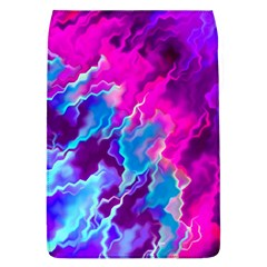 Stormy Pink Purple Teal Artwork Flap Covers (l)