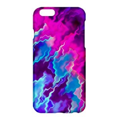Stormy Pink Purple Teal Artwork Apple iPhone 6 Plus Hardshell Case