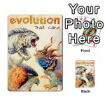 Evolution 1 Playing Cards 54 Designs Back