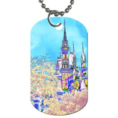 Castle For A Princess Dog Tag (one Side)