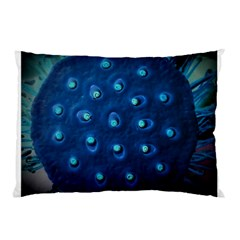 Blue Plant Pillow Cases (Two Sides)