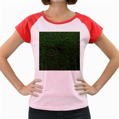 Green Moss Women s Cap Sleeve T-Shirt