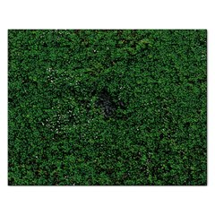 Green Moss Rectangular Jigsaw Puzzl
