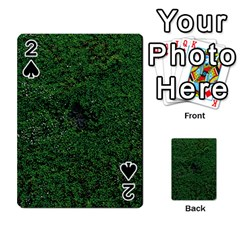 Green Moss Playing Cards 54 Designs