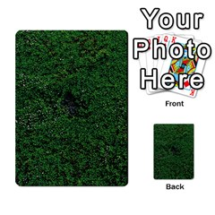 Green Moss Multi Purpose Cards (rectangle)