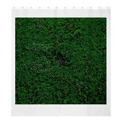 Green Moss Shower Curtain 66  x 72  (Large)