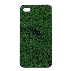 Green Moss Apple Iphone 4/4s Seamless Case (black)
