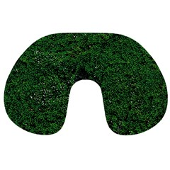 Green Moss Travel Neck Pillows