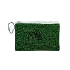 Green Moss Canvas Cosmetic Bag (S)