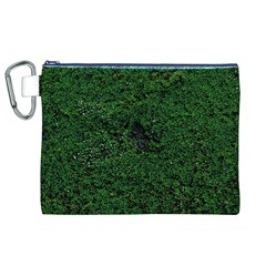 Green Moss Canvas Cosmetic Bag (XL)