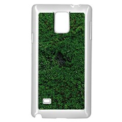 Green Moss Samsung Galaxy Note 4 Case (White)