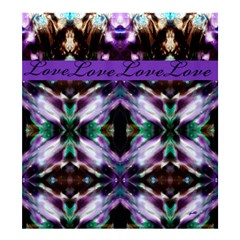 two thrones by saprillika Shower Curtain 66  x 72  (Large)