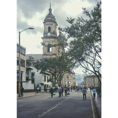 Cathedral At Historic Center Of Bogota Colombia Edited Magic Photo Cubes
