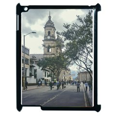 Cathedral At Historic Center Of Bogota Colombia Edited Apple Ipad 2 Case (black)