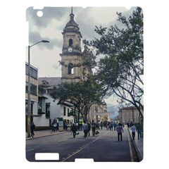 Cathedral At Historic Center Of Bogota Colombia Edited Apple Ipad 3/4 Hardshell Case
