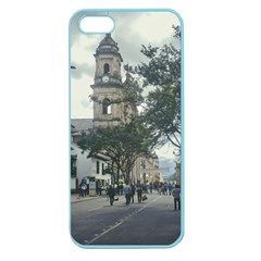 Cathedral At Historic Center Of Bogota Colombia Edited Apple Seamless Iphone 5 Case (color)