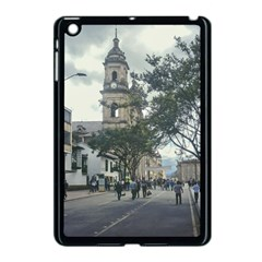 Cathedral At Historic Center Of Bogota Colombia Edited Apple Ipad Mini Case (black)