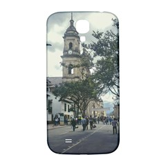 Cathedral At Historic Center Of Bogota Colombia Edited Samsung Galaxy S4 I9500/i9505  Hardshell Back Case