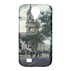 Cathedral At Historic Center Of Bogota Colombia Edited Samsung Galaxy S4 Classic Hardshell Case (pc+silicone)