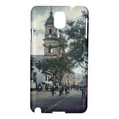 Cathedral At Historic Center Of Bogota Colombia Edited Samsung Galaxy Note 3 N9005 Hardshell Case