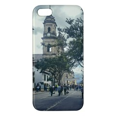 Cathedral At Historic Center Of Bogota Colombia Edited Iphone 5s Premium Hardshell Case