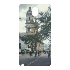 Cathedral At Historic Center Of Bogota Colombia Edited Samsung Galaxy Note 3 N9005 Hardshell Back Case