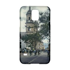 Cathedral At Historic Center Of Bogota Colombia Edited Samsung Galaxy S5 Hardshell Case