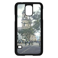 Cathedral At Historic Center Of Bogota Colombia Edited Samsung Galaxy S5 Case (Black)