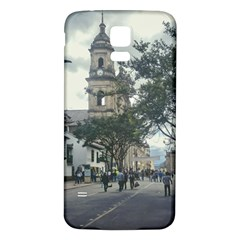 Cathedral At Historic Center Of Bogota Colombia Edited Samsung Galaxy S5 Back Case (white)