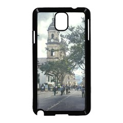 Cathedral At Historic Center Of Bogota Colombia Edited Samsung Galaxy Note 3 Neo Hardshell Case (black)