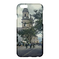 Cathedral At Historic Center Of Bogota Colombia Edited Apple Iphone 6 Plus Hardshell Case