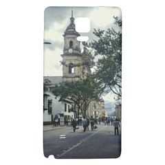 Cathedral At Historic Center Of Bogota Colombia Edited Galaxy Note 4 Back Case